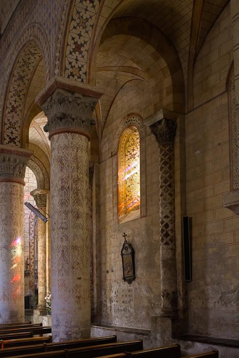Église Saint-Julien de Chauriat, Chauriat (Puy-de-Dôme)  Photo by Dennis Aubrey