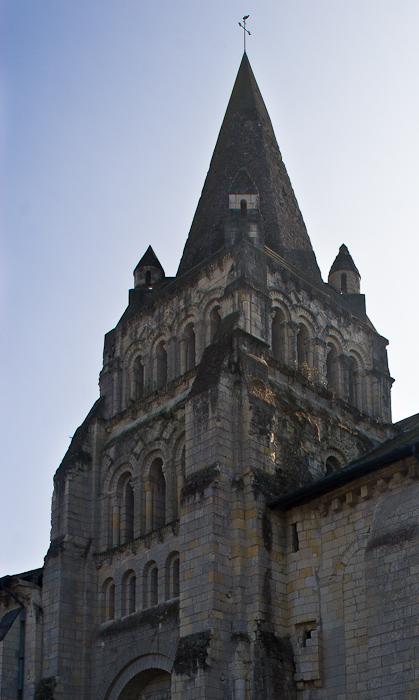 Église Notre-Dame de Cunault, Cunault (Maine-et-Loire) Photo by Dennis Aubrey