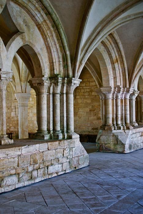 Entrance to chapter house, Église Abbatiale Notre Dame de Noirlac, Bruere-Allychamps (Cher) Photo by PJ McKey