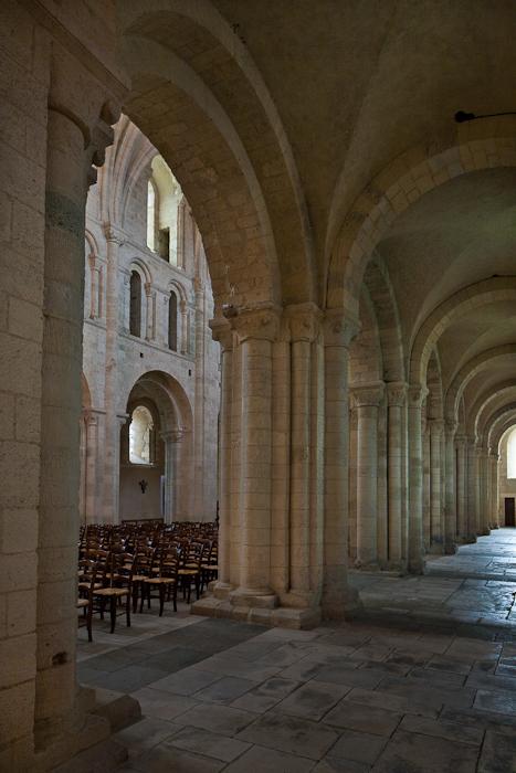 Abbaye Sainte Trinité, Lessay (Manche) Photo by PJ McKey
