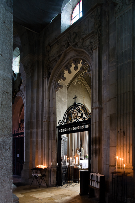Side chapel,  Cathédrale Saint Lazare, Autun (Côte-d'Or) Photograph by PJ McKey
