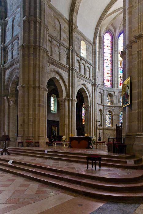 Choir, Cathédrale Saint Lazare, Autun (Côte-d'Or) Photograph by PJ McKey