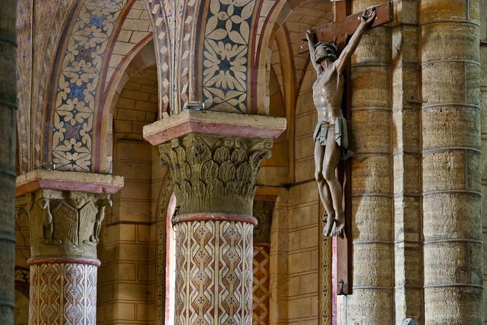 In Memoriam Bruce Andrews, Église Saint-Julien de Chauriat, Chauriat (Puy-de-Dôme) Photo by PJ McKey