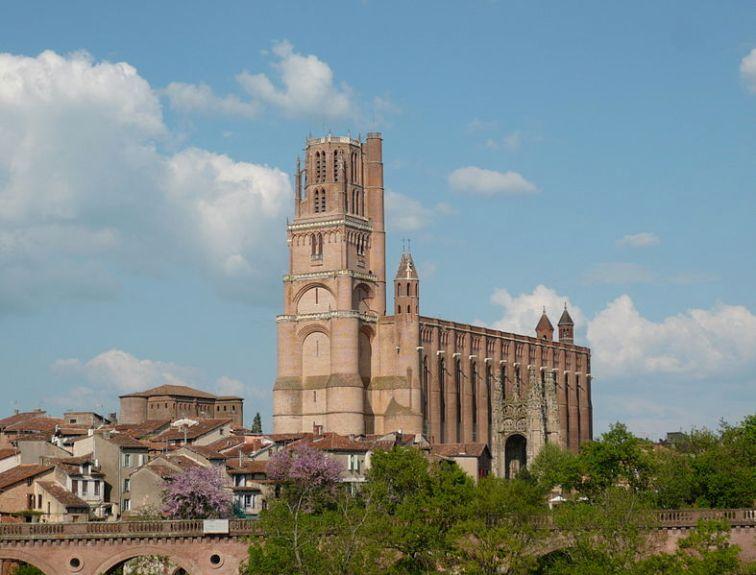 Cathédrale Sainte-Cécile d'Albi, Photo by ByacC (GNU Free Documentation License)