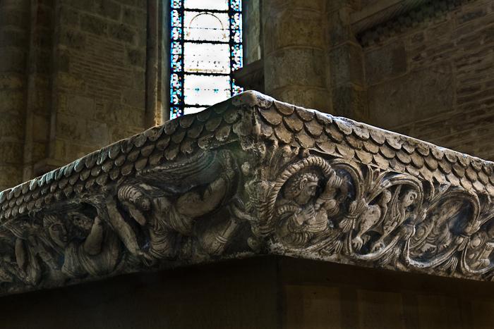 Altar detail, Basilique Saint Sernin, Toulouse (Haute-Garonne)  Photo by PJ McKey