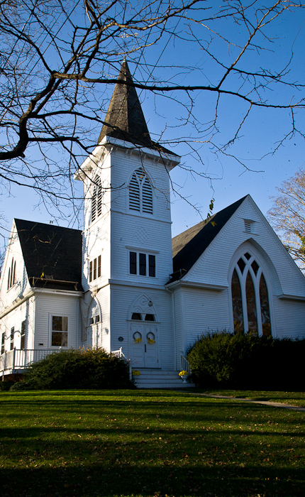 West Falmouth United Methodist, West Falmouth (Massachusetts)  Photo by Dennis Aubrey