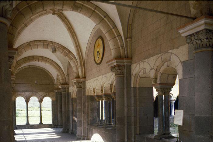 Paradise Atrium, Abbey Church of Maria-Laach, Andernach (Rhineland-Palatinate) Photo by Jong-Soung Kimm