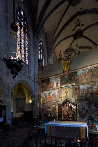 Cathedrale Sainte Marie, Saint Bertrand-de-Comminges (Haute-Garonne)  Photo by Dennis Aubrey