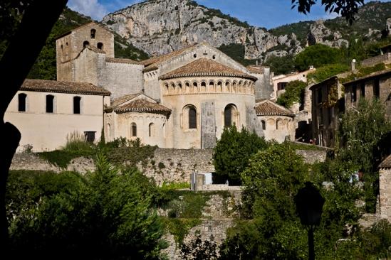 Abbaye de Gellone, Saint-Guilhem-le-Désert  (Hérault)  Photo by PJ McKey