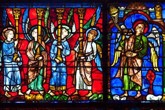 Cathédrale Notre Dame de Chartres, Chartres (Eure)  Photo by Dennis Aubrey
