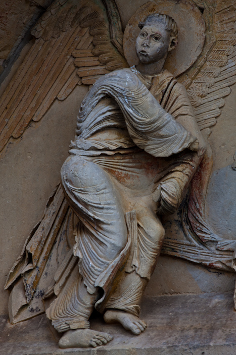 Angel, Église Notre-Dame du Pré, Donzy-le-Pré (Nièvre)  Photo by Dennis Aubrey
