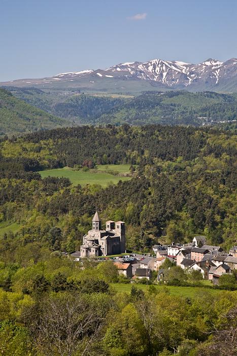 Basilique Saint Nectaire, Saint Nectaire (Puy-de-Dôme) Photo by PJ McKey
