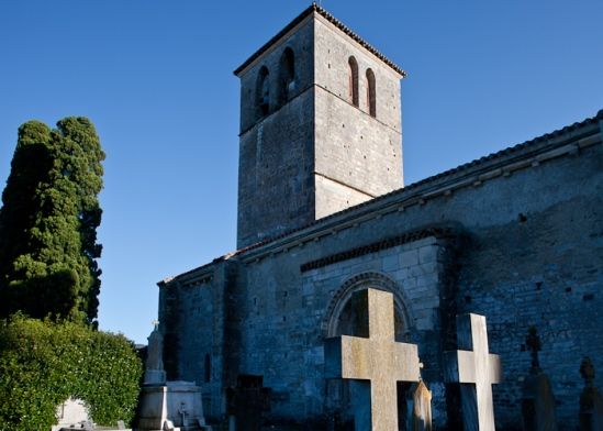 Église Saint Just de Valcabrère, Valcabrère (Haute-Garonne) Photo by Dennis Aubrey