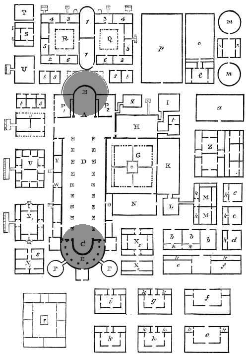 Plan of the Abbey of Saint Gall, Wikipedia Commons