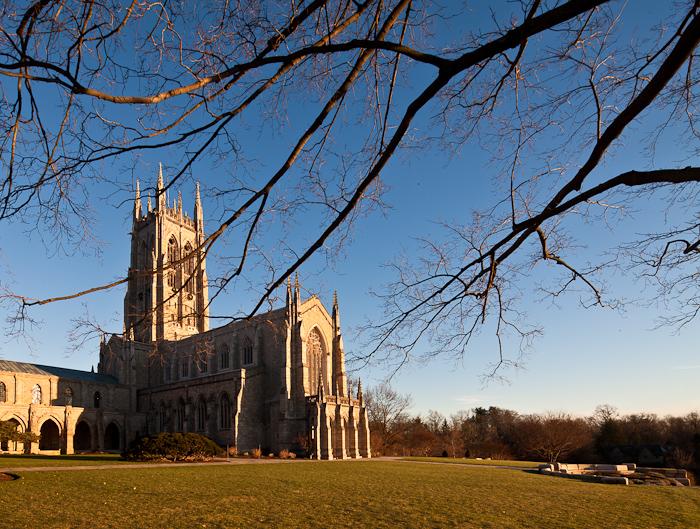 Bryn Athyn Cathedral, Bryn Athyn (Pennsylvania)  Photo by Dennis Aubrey