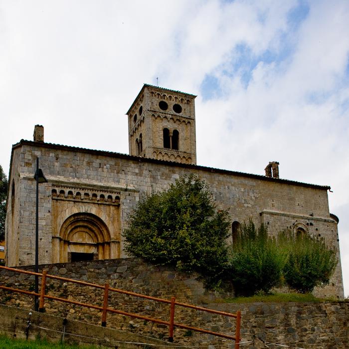 Iglesia Santa Cecília de Molló, Molló (Girona) Photo by Dennis Aubrey