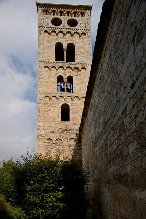Campanario, Iglesia Santa Cecília de Molló, Molló (Girona) Photo by Dennis Aubrey