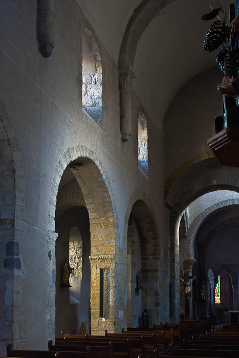 Abbaye Saint Pierre de Beaumont, Beaumont (Puy-de-Dôme) Photo by Dennis Aubrey