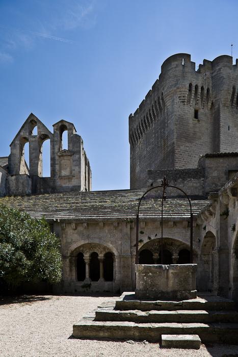 Abbaye Saint-Pierre de Montmajour, Arles (Bouches-du-Rhône) Photo by PJ McKey