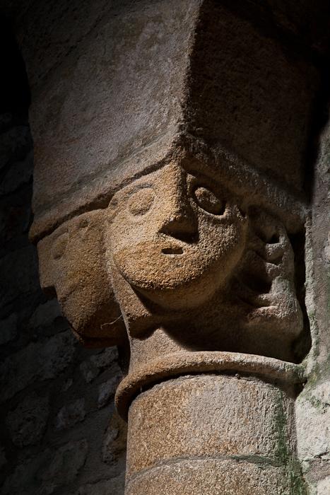 Capital, Église Notre Dame de Joie, Merlévenez (Morbihan) Photo by PJ McKey