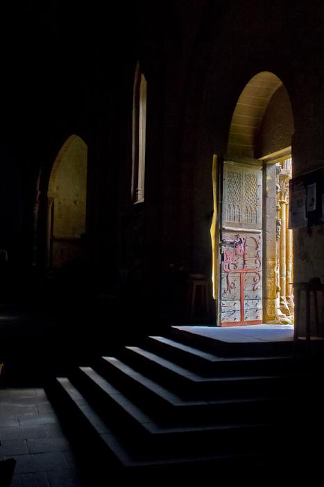 Eglise de Mailhat, Mailhat (Puy-de-Dôme) Photo by Dennis Aubrey