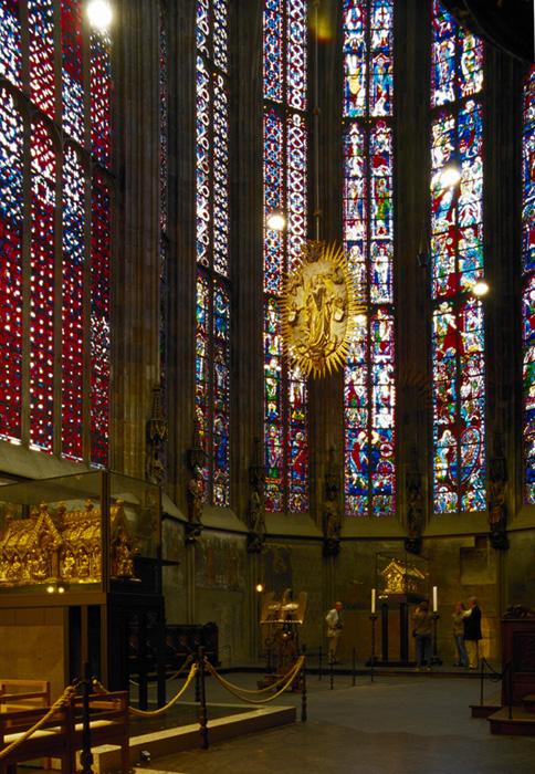 Apse, Palatine Chapel, Aachen (Nordrhein-Westfalen)  Photo by Jong-Soung Kimm