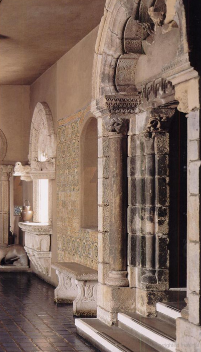 La Réole Portal, from The Isabella Stewart Gardner Museum: A Companion Guide and History  By Hilliard T. Goldfarb