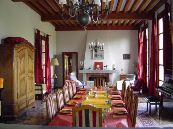 Castel Rose breakfast room