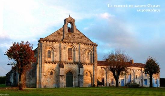 Prieuré de Sainte-Gemme, Sainte-Gemme (Charente-Maritime) Photo by Andreï Gheorghe Vlad