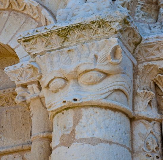 Le grand'goule, Notre Dame de Echillais, Echillais (Charente-Maritime)  Photo by Dennis Aubrey
