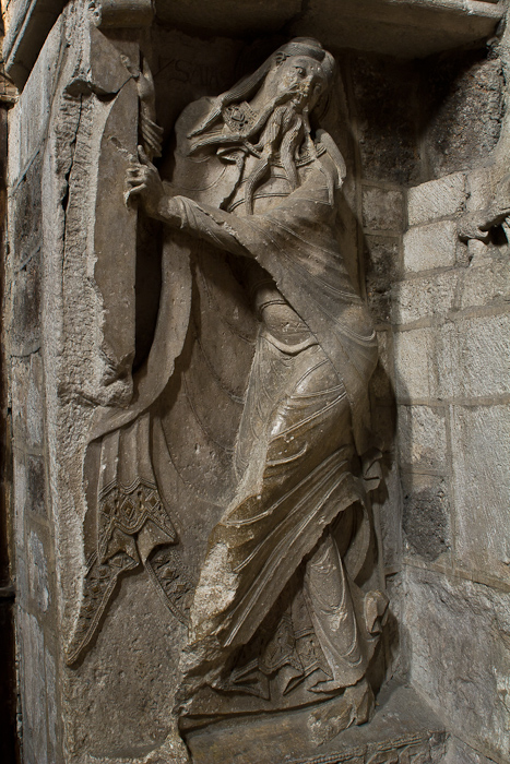 Isaiah, Église Sainte Marie, Souillac  (Lot)  Photo by Dennis Aubrey