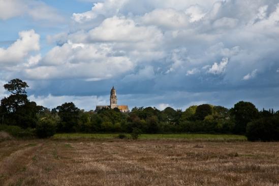 Église Notre-Dame-de-l'Assomption, Sainte Marie-du-Mont (Manche)  Photo by PJ McKey
