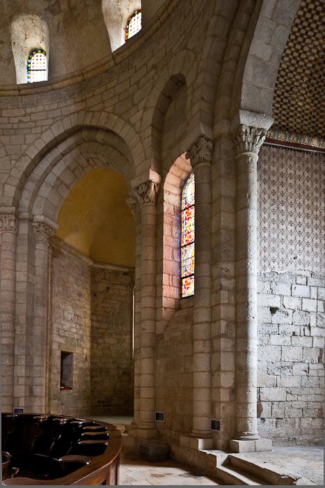 Apsidal chapel,  Église Sainte Marie, Souillac (Lot) Photo by PJ McKey