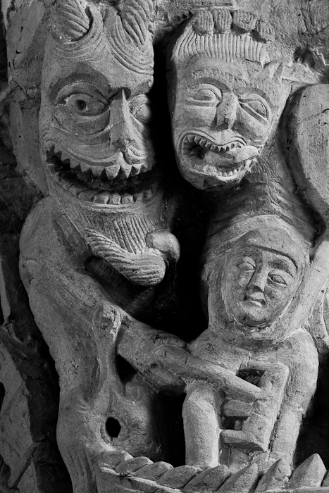 Capital - Demons and the damned, Église Saint-Révérien de Saint-Révérien‬, Saint-Révérien (Nièvre) Photo by Dennis Aubrey