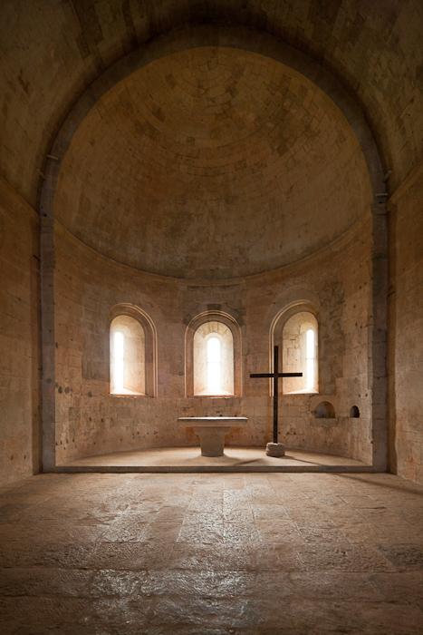 Apse, Abbaye de Thoronet, Le Thoronet (Var) Photo by Dennis Aubrey