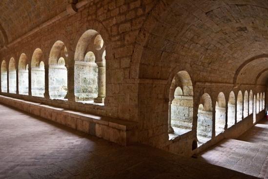 Cloister, Abbaye de Thoronet, Le Thoronet (Var)  Photo by PJ McKey