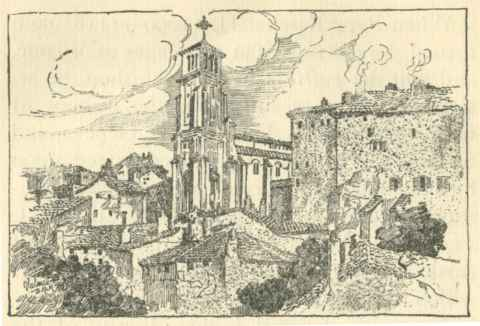 Cathédrale Saint-Apollinaire, Valence (Drôme), Cathedrals of Southern France (1904), Illustration by  Blanche McManus