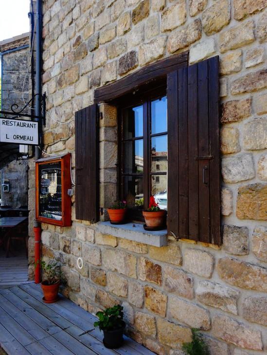 Street view in Ailhon (Ardèche)   Photo by Nathan Mizrachi
