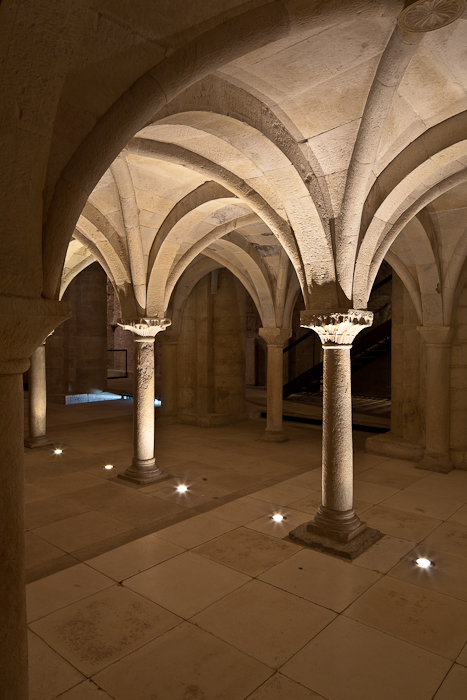 Tribune vault, Abbaye Sainte Marie de Cruas, Cruas (Ardèche) Photo by PJ McKey