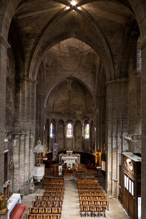 Apse, Église Notre Dame du Lac, Le Thor (Vaucluse) Photo by PJ McKey