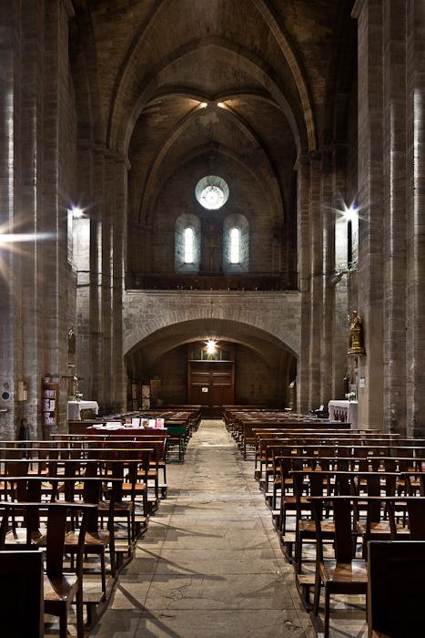Tribune, Église Notre Dame du Lac, Le Thor (Vaucluse) Photo by PJ McKey