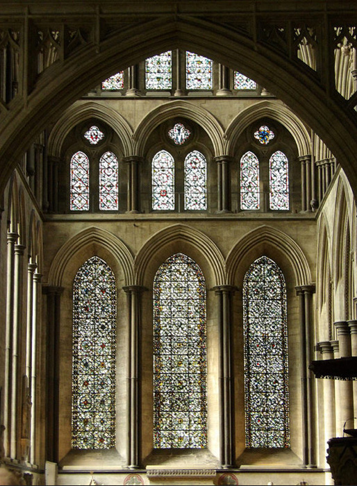 Crossing, Cathedral of the Blessed Virgin Mary, Salisbury (Photo by Nathan Mizrachi