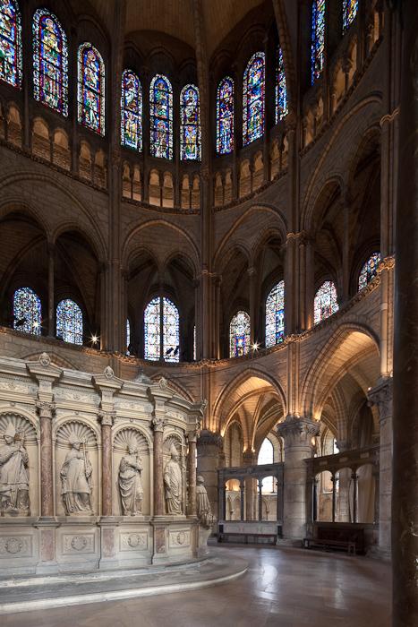 Tomb of Saint Remi, Basilique Saint Remi, Reims (Marne) Photo by Dennis Aubrey