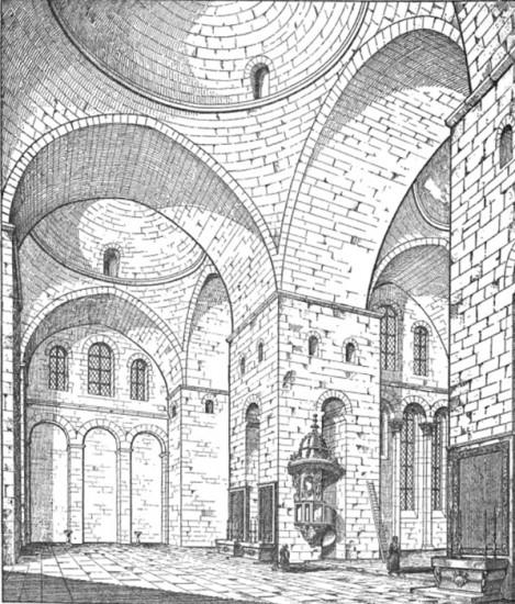 Cathédrale Saint Front, Périgueux (Dordogne), Illustration by Edmund Sharpe