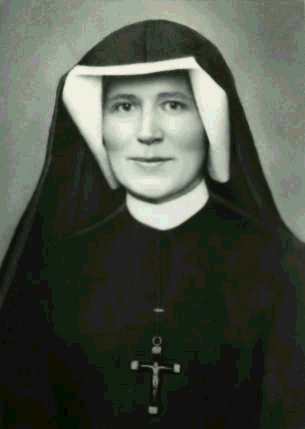 Saint Faustina (Maria Faustyna Kowalska) 1905-1938