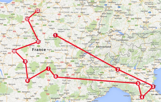 Europe Map 2015