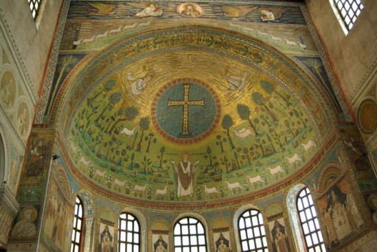 Basilica di Sant'Apollinare in Classe (Image in the Public Domain)
