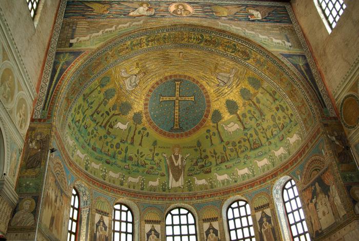 Basilica di Sant'Apollinare in Classe (Image in the Public Domain)
