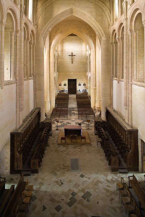Église Abbatiale Saint Vigor, Cerisy-la-Forêt (Manche)  Photo by Dennis Aubrey