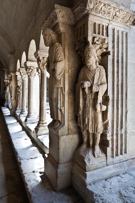 Jesus meets followers at Emmaus, Cathédrale Saint-Trophime (Photo by PJ McKey)